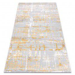 Teppich ACRYL DIZAYN 122 gelb / hellgrau