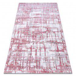 Teppich ACRYL DIZAYN 122 hell-pink / hellgrau