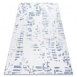Teppich ACRYL DIZAYN 8840 Elfenbein / blau