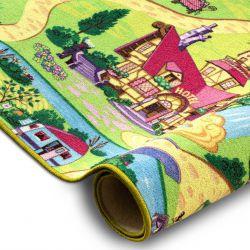Teppichboden CANDY TOWN für Kinder Straßen Stadt