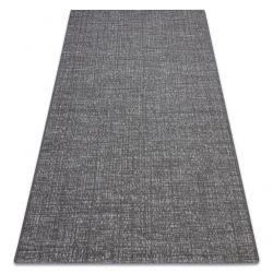 Teppich FORT SISAL 36203094 grau gleichmäßig glatt einfarbig