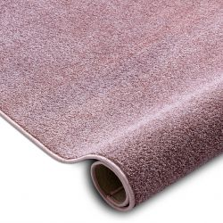 Teppichboden SANTA FE erröten rosa 60 eben, glatt, einfarbig