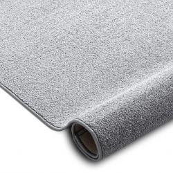 Teppichboden SANTA FE silber 92 eben, glatt, einfarbig