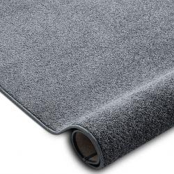 Teppichboden SANTA FE grau 97 eben, glatt, einfarbig