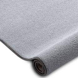 Teppichboden VELVET MICRO grau 90 eben, glatt, einfarbig