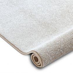 Teppichboden SAN MIGUEL creme 031 eben, glatt, einfarbig