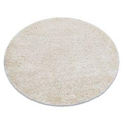Teppich SHAGGY NARIN Kreis P901 creme