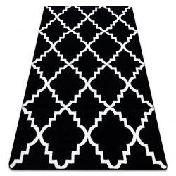Teppich SKETCH - F343 schwarz/weiß trellis