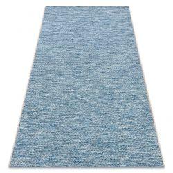 Teppich SISAL LOFT 21101 Diamanten blau / silber / schwarz