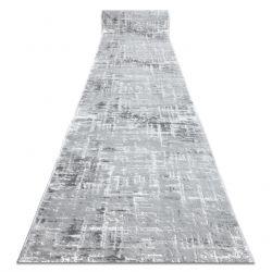 Läufer Structural MEFE 8722 zwei Ebenen aus Vlies grau / weiß