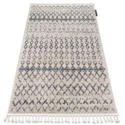 Teppich BERBER AGADIR G0522 sahne / grau Franse berber marokkanisch shaggy zottig