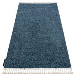 Teppich BERBER 9000 blau Franse berber marokkanisch shaggy