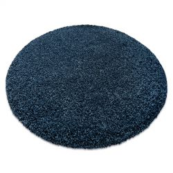 Moderner Waschteppich ILDO 71181090 Kreis dunkelblau