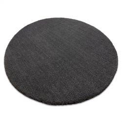 Moderner Waschteppich LATIO 71351100 Kreis grau