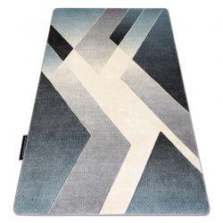 Teppich ALTER Wild Geometrisch blau / grau