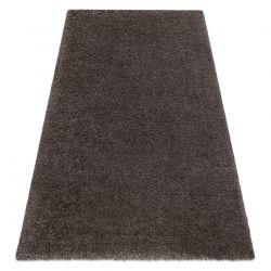 Teppich SUPREME 51201070 shaggy 5cm dunkelbraun