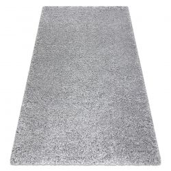Teppich SUPREME 51201140 shaggy 5cm silber