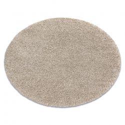 Teppich SUPREME Kreis 51201056 shaggy 5cm beige