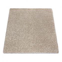 Quadratischer Teppich SUPREME 51201056 shaggy 5cm beige