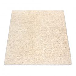 Quadratischer Teppich SUPREME 51201066 shaggy 5cm sahne