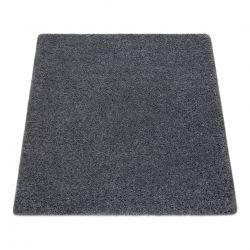 Quadratischer Teppich SUPREME 51201080 shaggy 5cm grau