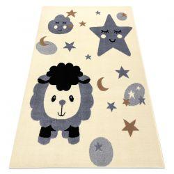 Teppich BCF FLASH Sheep 4000 - Schaf creme / grau