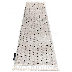 Teppich, Läufer BERBER SYLA B752 Punkte sahne - in die Küche, Halle, Korridor