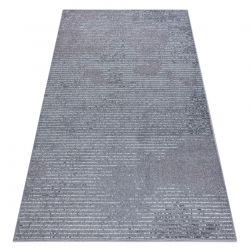 Teppich HEOS 78596 silber / rosa LINIEN