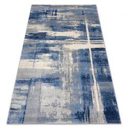 Teppich SOFT 6105 T73 86 hellgrau / blau