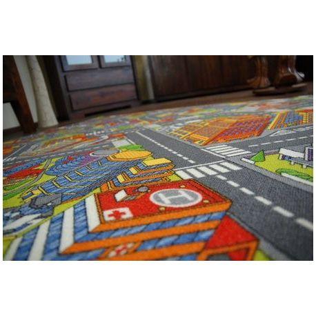 Teppichboden STRAßEN BIG CITY grau
