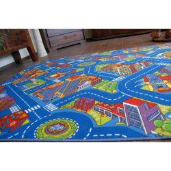 Teppichboden STRAßEN BIG CITY blau