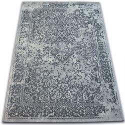 Teppich VINTAGE 22208/356 grau klassische Rosette
