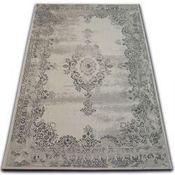 Teppich VINTAGE Rosette 22206/666 hellgrau