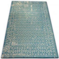 Teppich VINTAGE 22209/644 türkis / creme klassisch