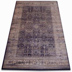 Teppich heat-set Jasmin 8580 schwarz