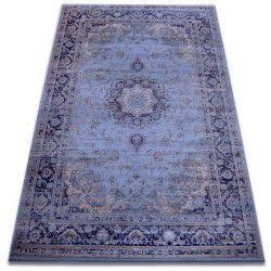 Teppich heat-set Jasmin 8676 blau