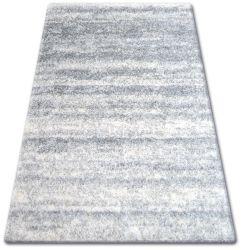 Teppich SHAGGY ZENA 3383 grau / weiß