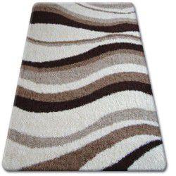 Teppich SHAGGY ZENA 2490 elfenbein / beige