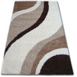 Teppich SHAGGY ZENA 3182 elfenbein / beige