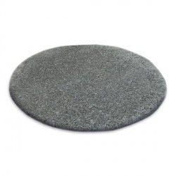 Teppich Kreis SHAGGY NARIN P901 grau