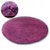 Teppich kreis SHAGGY GALAXY 9000 violett