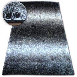 Teppich Shaggy SPACE 3D B315 schwarz/grau