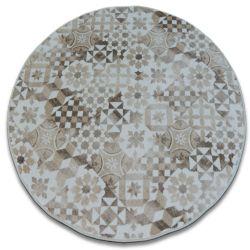 Teppich rund MAIOLICA beige LISBOA