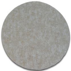 Teppich rund POZZOLANA beige