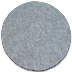 Teppich rund POZZOLANA Silber