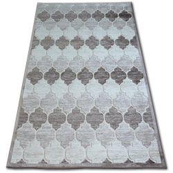 Teppich ACRYL YAZZ 3766 Dunkelbeige/braun Trellis